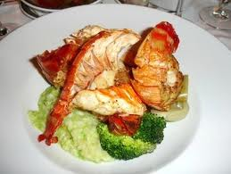 A Plate of Cooked Lobster