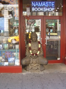 Namaste Bookshop near Union Square
